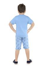 Genius Boys T-Shirt With Bermuda Set,Air force,SNGS2034638