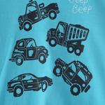 Smart Baby Baby Boys T-Shirt With Bermuda Set,Sky Blue/Navy,SNGS2034941