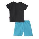 Smart Baby Baby Boys T-Shirt With Bermuda Set,Chrchol/Sky Blue,SNGS2034994
