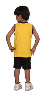 Genius Boys T-shirt With Bermuda Set,Yellow /Black, SIMGS20GSL027