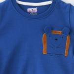 Smart Baby Baby Boy T-shirt With Bermuda Set,Royal Blue,SNGS2035207