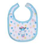 Smart Baby Baby Girls Bib, Light Blue-BAGCG110JLBUE