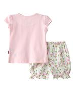 Smart Baby Baby Girl T-Shirt With Bloomers Set, Light Peach-SNGSS2137485
