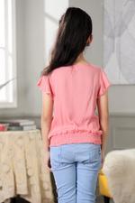 Nexgen Girls Girl Blouse,Pink,GEGSS2020285