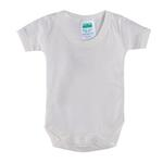 Smart Baby Organic Cotton Unisex Bodysuit , White - TIGBS2OCW/NB