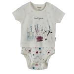 Chiquitos Baby Boys Bodysuit , Cream - BAGCB203