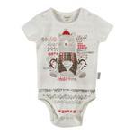 Chiquitos Baby Boys Double Layer Bodysuit , White - BAGCB303