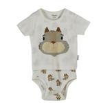 Chiquitos Baby Boys Double Layer Bodysuit , Cream - BAGCB103