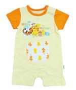 Disney Baby Hugs And Hunny Baby Boys Shortleg Bodysuit, Light Yellow/Orange-NCGDBIBCPR1E