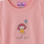 Smart Baby Baby Girl Bodysuit , Pink - BIGAW20SG553KPINK