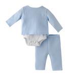 Rock a Bye Baby Baby Boys 3pc Set , Light Blue - JCGAW20S19470