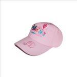 Flower Girl Girls Cap,Pink, FMGLL2P
