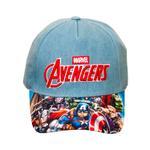 Avengers Boys Cap , Denim Blue - TCGLTRHA10960