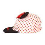 Disney Minnie Mouse Girls Cap , Black/White - TCGL11191A