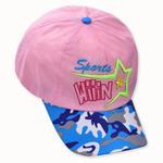 Le Crystal Girls Adjustable Baseball Cap,Light Pink, FMGFY1LP