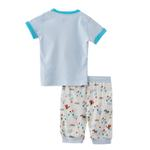 Smart Baby Baby Boy T-Shirt With Capri Set,Sky Blue/Off White - SNGS2035037