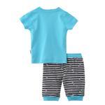 Smart Baby Baby Boy T-Shirt With Capri Set,Sky Blue - SNGS2035011