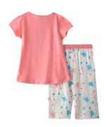 Genius Girls T-Shirt With Capri Set , Deep Peach/Off White - SNGSS2137494