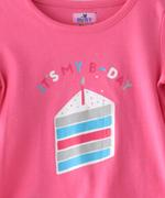 Smart Baby Baby Girls T-shirt With Capri Set,Pink/White-SNGSS2137553