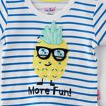 Smart Baby Baby Boy T-Shirt With Capri Set,White/Yellow - SNGS2035082