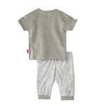 Smart Baby Baby Boys Capri Set,Grey/White,SNGS2035036