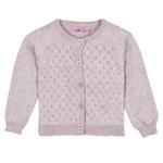 Smart Baby Baby Girls Cardigan ,Light Lavender-FMGF3211-LAV