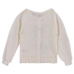 Smart Baby Baby Girls Cardigan, Off White-FMG2718G-OWHT