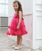 Smart Baby Baby Girl Party Dress , Fuchsia - GEGS211801007