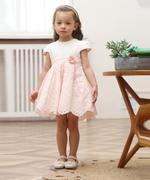Smart Baby Baby Girl Party Dress , White/Pink - GEGS21DG6641