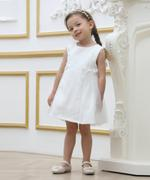 Smart Baby Baby Girl Party Dress , White - GEGS2120113