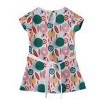 Flower Girl Girls Dress,Multi,SIMGS20GFR020