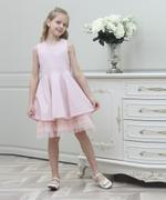 Le Crystal Girl Party Dress , Pink - GEGS21DG8039