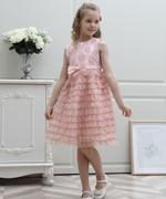 Le Crystal Girl Party Dress , Pink - GEGS21DG8055