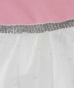 Little Kangaroos Baby Girl Dress , Pink/White - ROGS2019926A