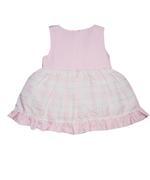 Little Kangaroos Baby Girl Dress , Pink - ROGS2019849A