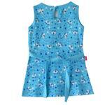 Flower Girl Girls Dress,Blue,SIMGS20GFR028