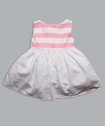 Little Kangaroos Girls Dress , White/Multi - ROGS2019598A