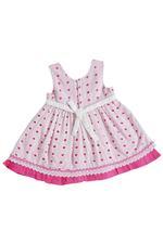 Smart Baby Baby Girls Frock , Pink - SIMGS21NV7015