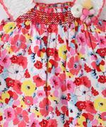 Smart Baby Baby Girls Dress,Multi - SIMGS21NV6008