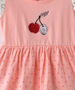 Smart Baby Baby Girls Dress , Peach - SNGSS2137649