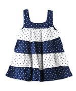 Smart Baby Baby Girl Dress,Navy/White-KFGSS211716