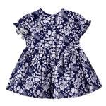 Smart Baby Baby Girls Dress,Navy Blue,KOGSS20716B