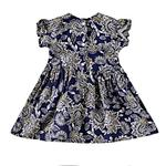 Smart Baby Baby Girls Dress,Navy Blue,KOGSS20717B