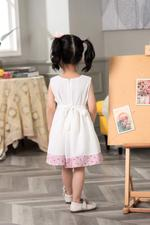 Smart Baby Baby Girls Dress-White GEGSS2020106