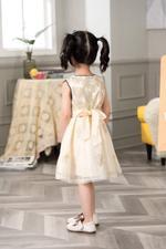 Smart Baby Baby Girls Dress-Beige GEGSS2020117