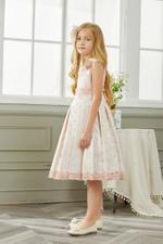 Le Crystal Girls Party Wear Dress,Pink,GEGSS2020162