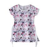 Flower Girl Girls Dress,White & Pink,SIMGS20GFR010