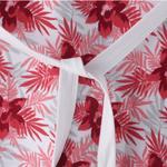 Flower Girl Girls Dress,White&Red,SIMGS20GFR014