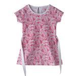 Flower Girl Girls Dress,White & Pink,SIMGS20GFR016