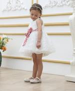 Smart Baby Baby Girl Party Dress , White - GEGS21DG6638
